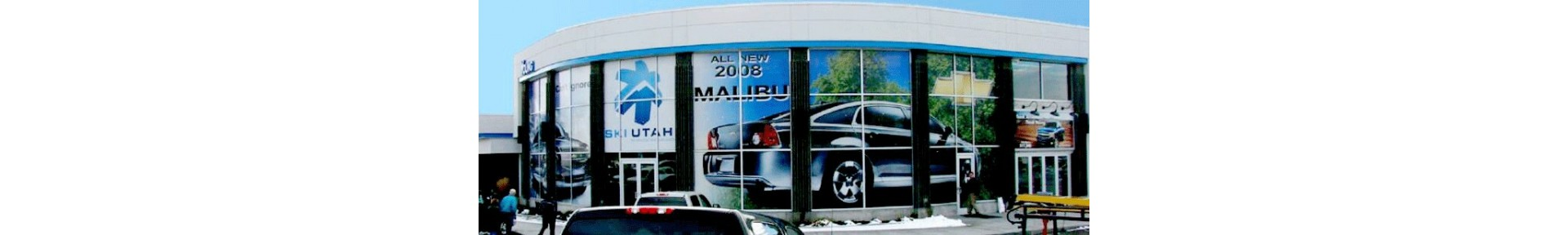 Window Graphics, Custom Vinyl Lettering and RTA Windshield Decals