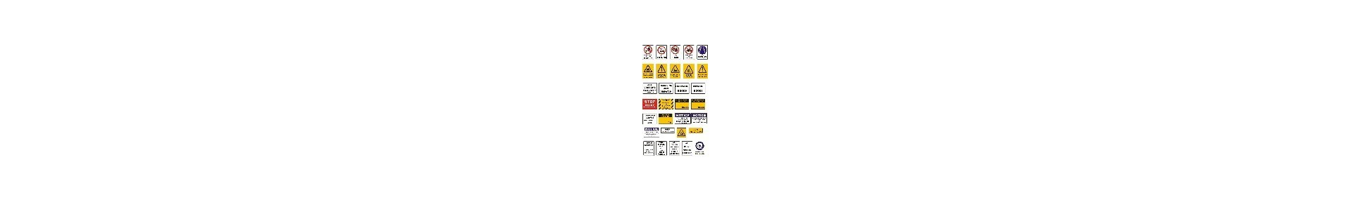Warehouse and Safety Signs Canada.