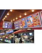 Edgelit menu boards signs