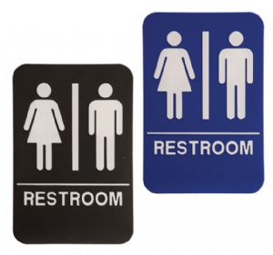 Wash Room Signs Canada, Rest Room Signs