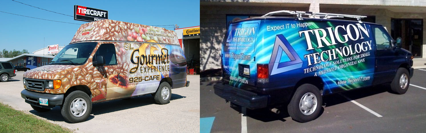 Vehicle wraps Canada
