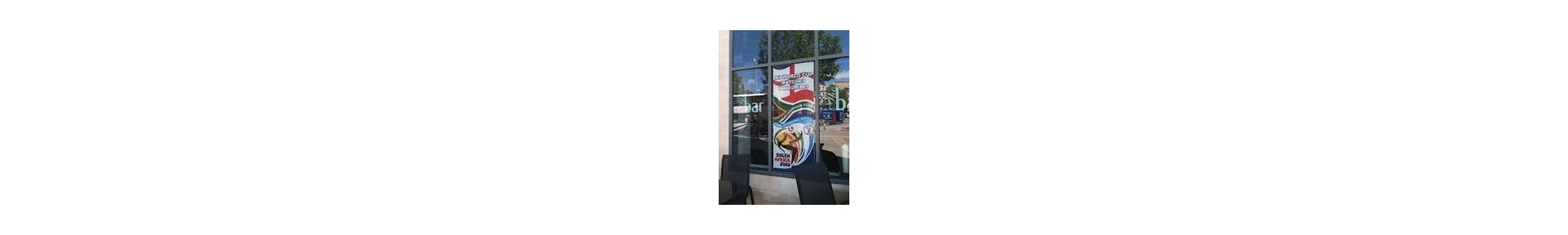Promotional Custom Window Decals Customized With Your Logo
