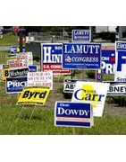 Lawn Bag Signs | Yard Bag Signs | Coroplast Signs | Poly Bag Signs |