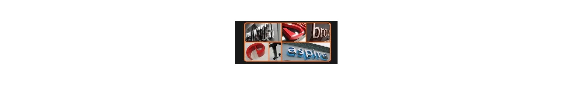 Built up letters, halo illuminated letters, illuminated signs, bespoke