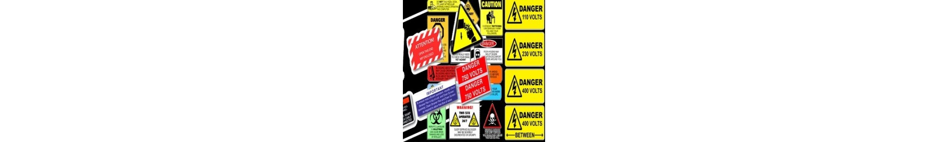 Safety Labels & Signs – Premium ISO Warning Labels and Signs