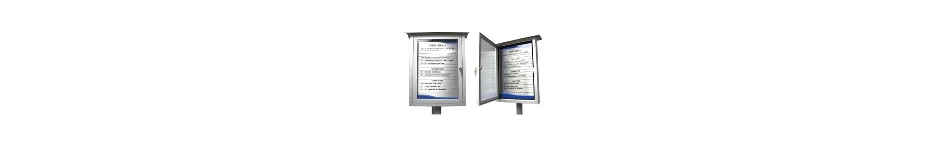 Internal &amp, External Wayfinding Signs secure directory signs