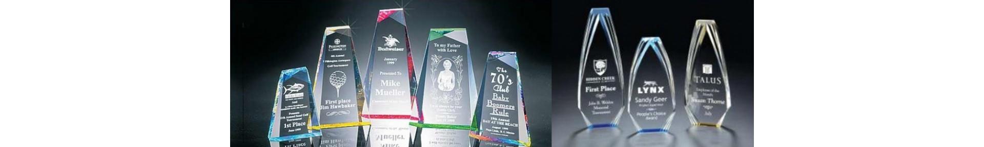 Acrylic Awards,Acrylic Trophies,Engraved Acrylic Awards