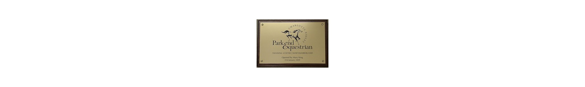 Custom Engraved Brass Signs, Plaques and Tags