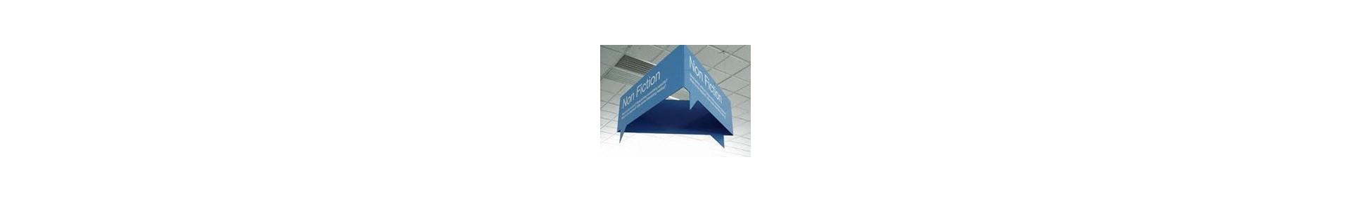 tradeshow displays, exhibits, pop up displays, hanging signs, banner s
