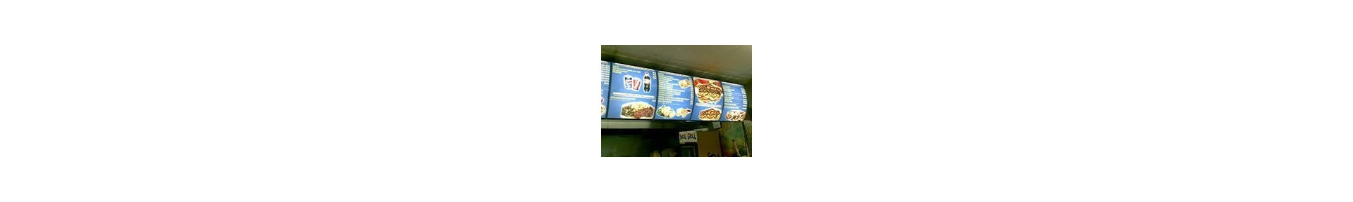 Restaurant Menu Boards | Digital Menu boards | Lightboxes
