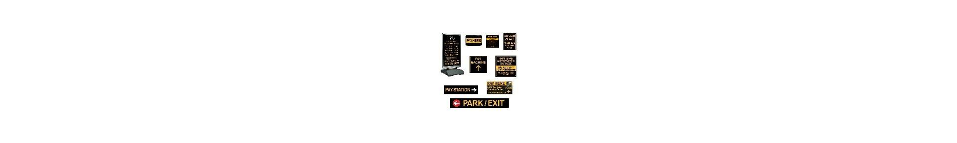 Parking Garage Signs