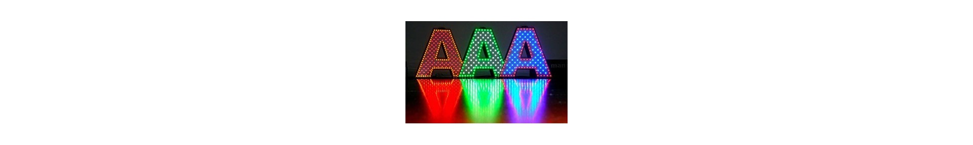 Color Changing Led Channel Letters Canada, Led Channel Letters Canada.