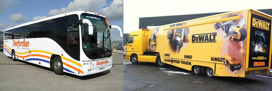 Bus Graphics Canada,Larger vehicles Canada